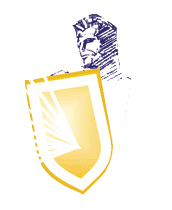 Gleam guard shield logo